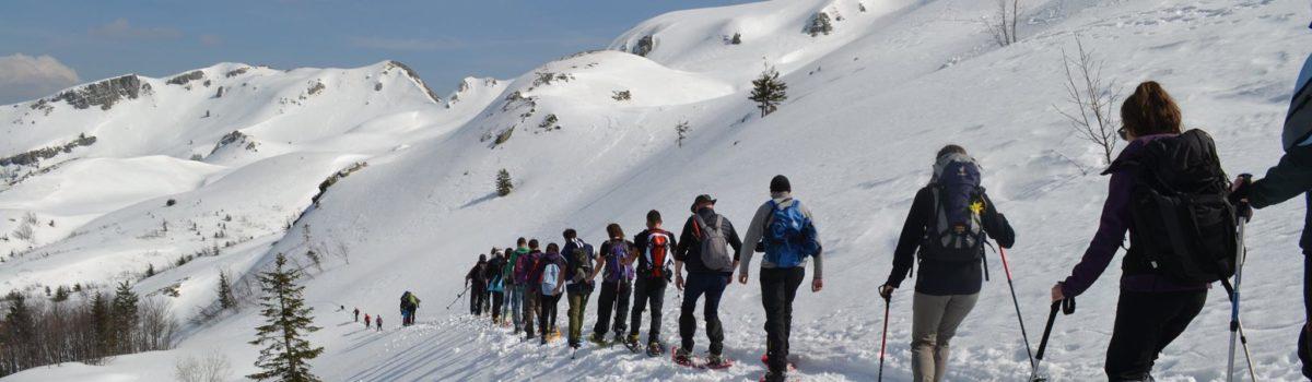 Escursione con ramponi Doganaccia – Lago Scaffaiolo