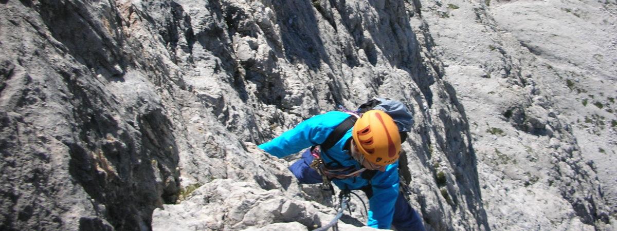 Corso di Alpinismo su Roccia AR1
