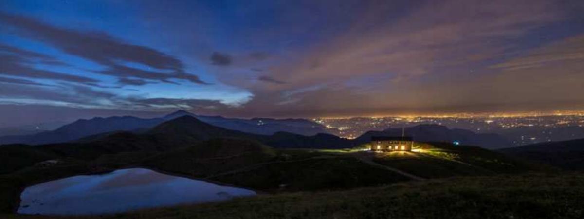 Cicloescursione in notturna al Lago Scaffaiolo