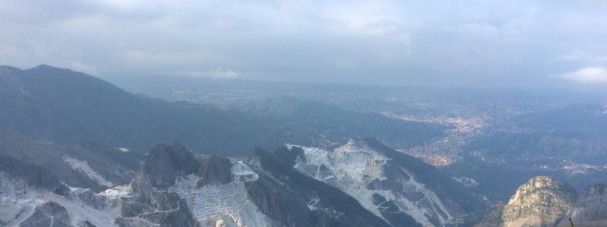 Escursione sulle Alpi Apuane da Campocecina