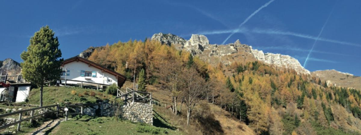 Trentino: Madonna della Corona, Centa San Nicolo, Rifugio Casarota