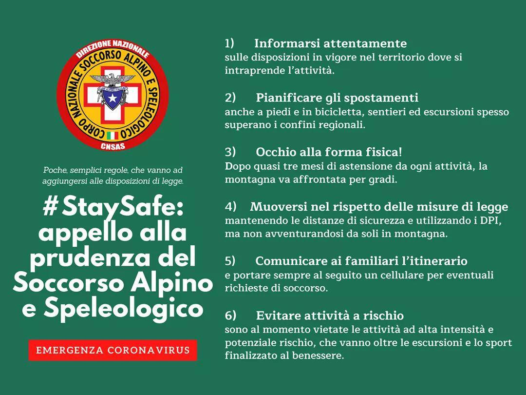 Campagna #StaySafe